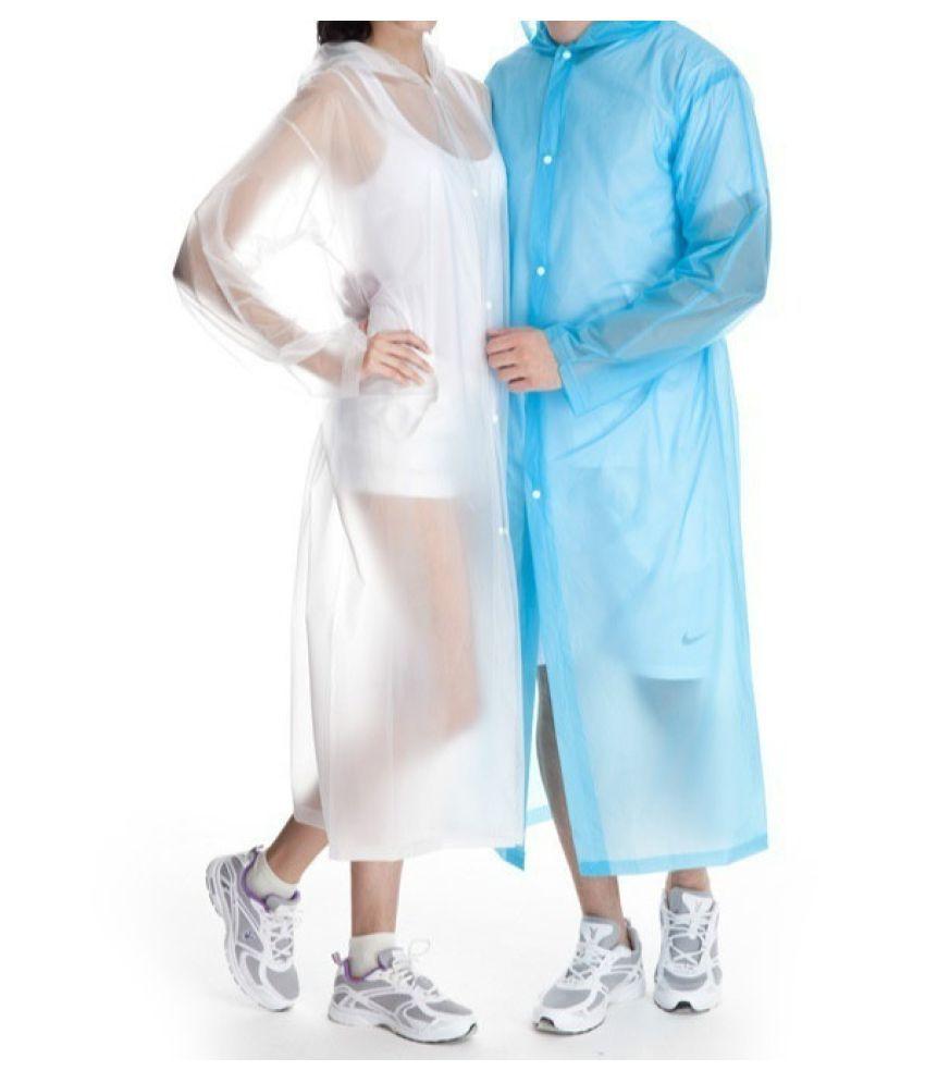Destiny Waterproof Long Raincoat - Pink