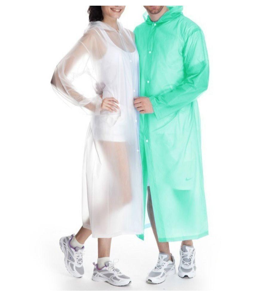 Destiny Waterproof Long Raincoat - Purple
