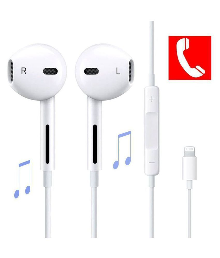 Kemipro Apple Iphone 7 Plus Earphone In Ear Wired Earphones With Mic Buy Kemipro Apple Iphone 7 Plus Earphone In Ear Wired Earphones With Mic Online At Best Prices In India On Snapdeal