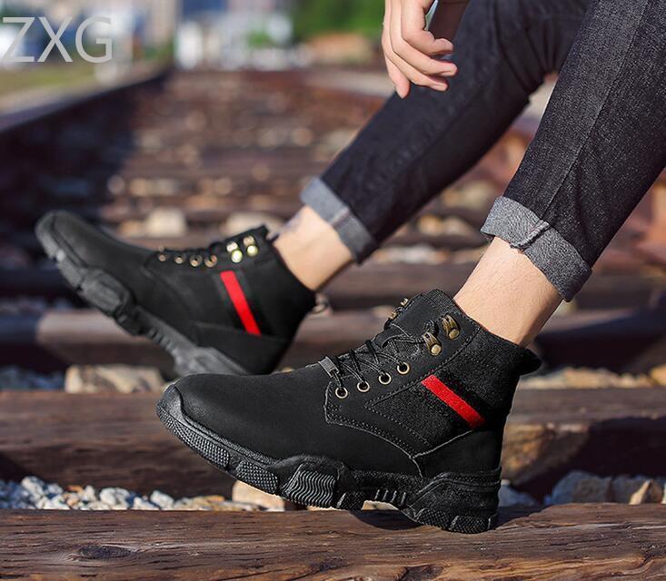 Niti Black Casual Boot