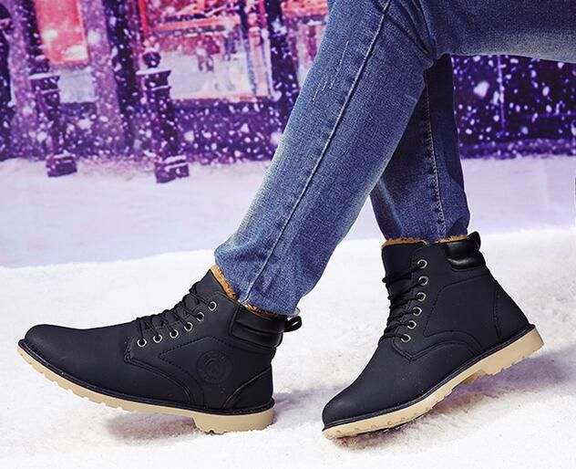 Niti Black Snow Boot
