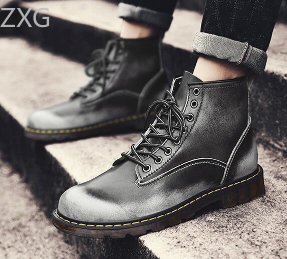 Niti Gray Casual Boot