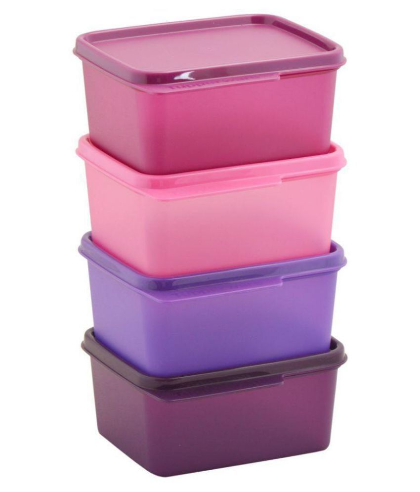Tupperware Polycarbonate Food Container Set of 4