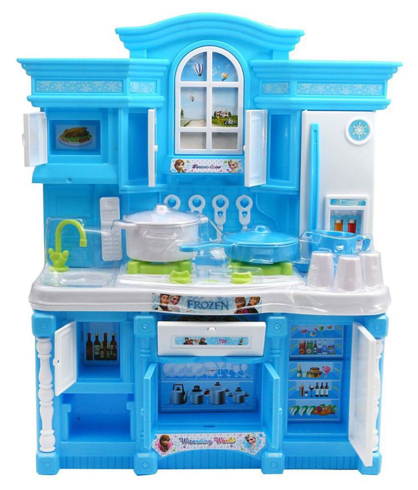 Fastdeal frozen kitchen play set with cooktop buy fastdeal frozen kitchen play set with cooktop online at low price snapdeal