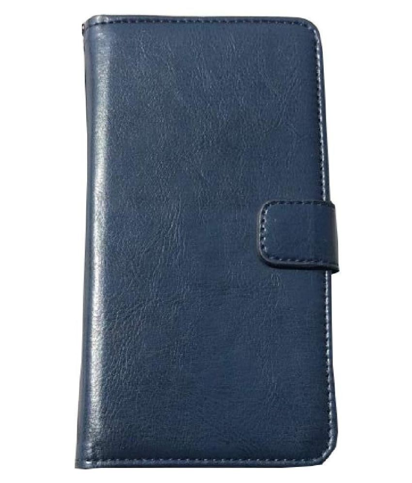 Xiaomi Redmi Y1 Flip Cover by VinyakMobile - Blue Vintage Flip Cover
