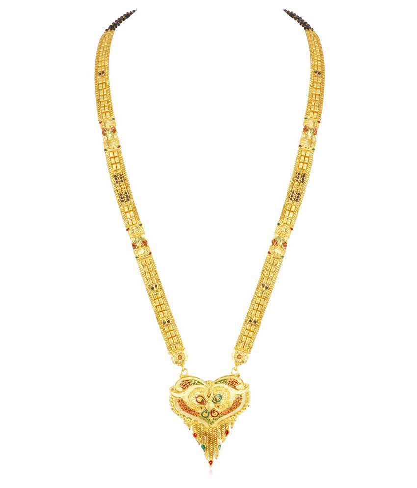 Sukkhi Exotic Gold Plated Mangalsutra for women