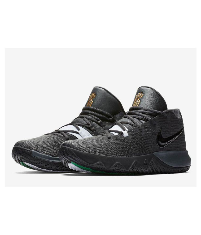 8114cf9148cd Nike Kyrie Flytrap Black Basketball Shoes - Buy Nike Kyrie Flytrap Black  Basketball Shoes Online at Best Prices in India on Snapdeal