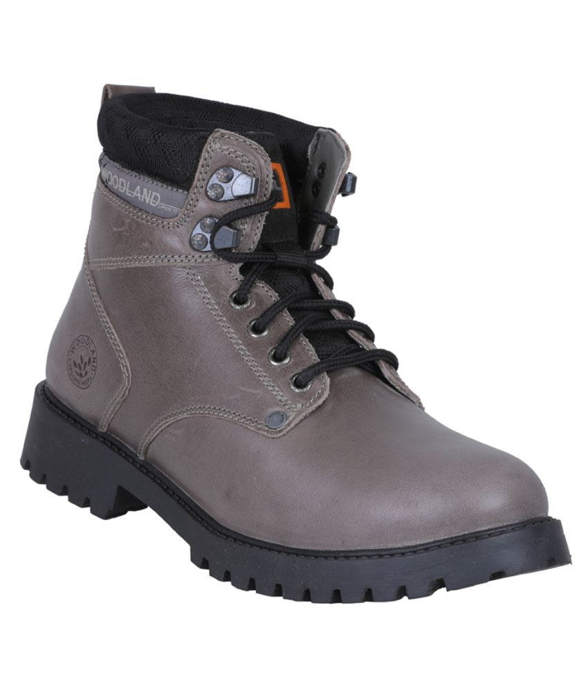 Woodland Gray Casual Boot