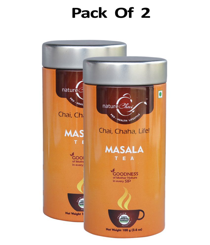 nature Chai Masala Chai Loose Leaf 100 gm Pack of 2
