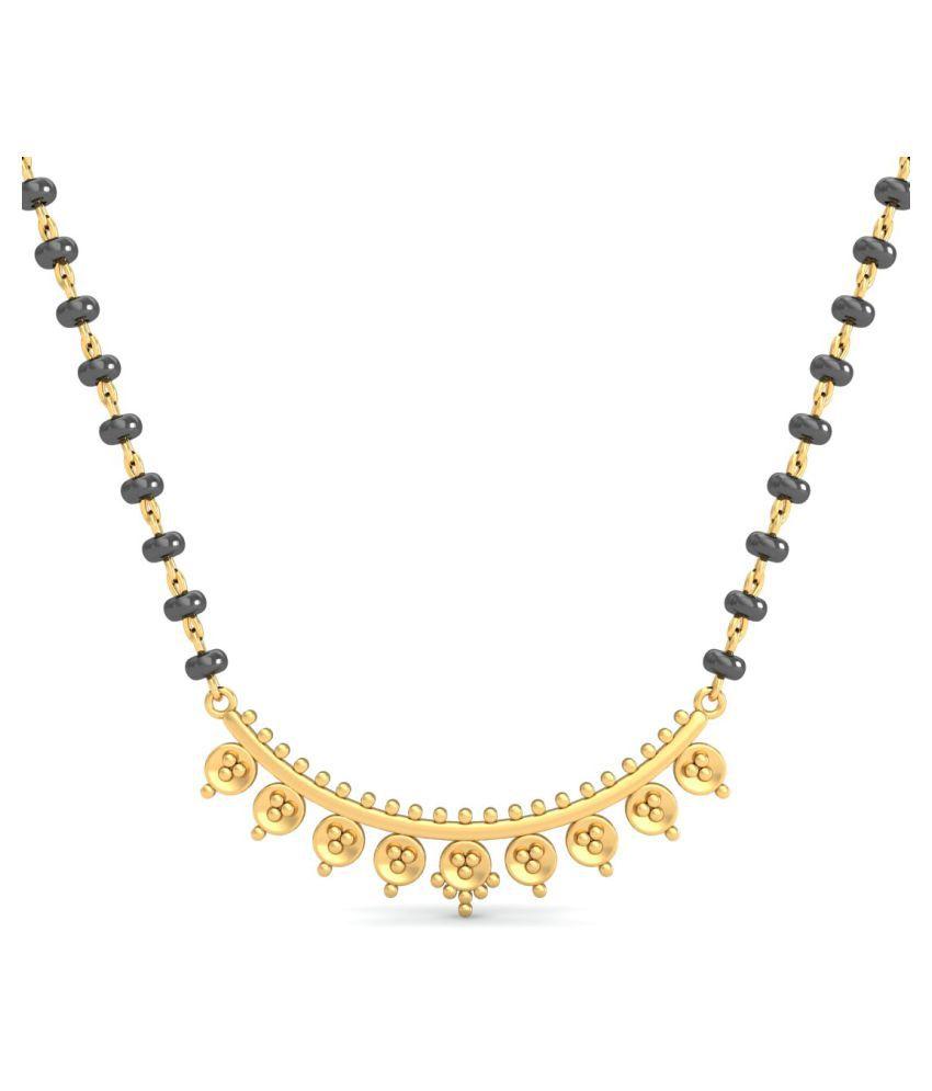 costozon 18k Yellow Gold Mangalsutra