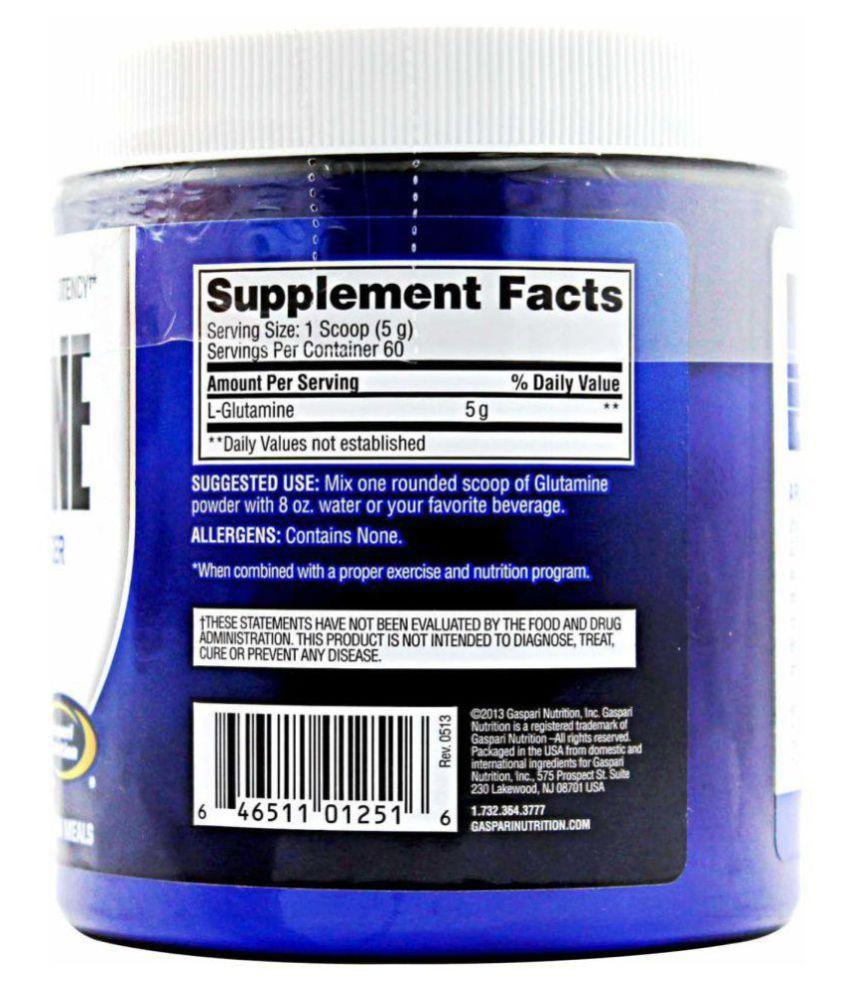 Gaspari Nutrition Glutamine 300 gm