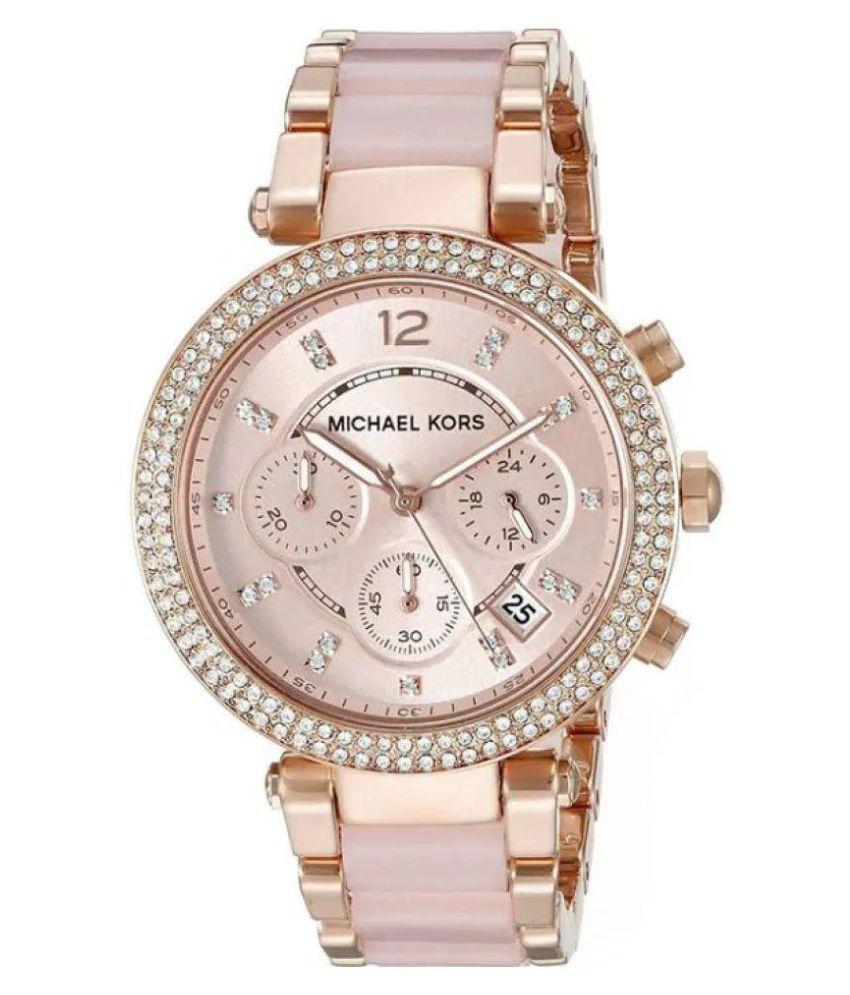 e8dca5d4dde5 Michael Kors Watches Parker Women s Watch Price in India  Buy Michael Kors  Watches Parker Women s Watch Online at Snapdeal
