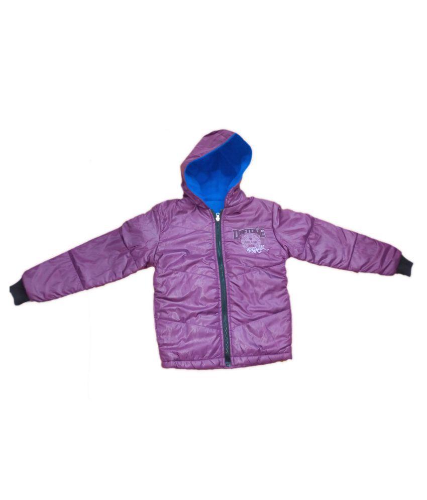Vastra VInod Kids Full Sleeve Jacket With Hood For Girls