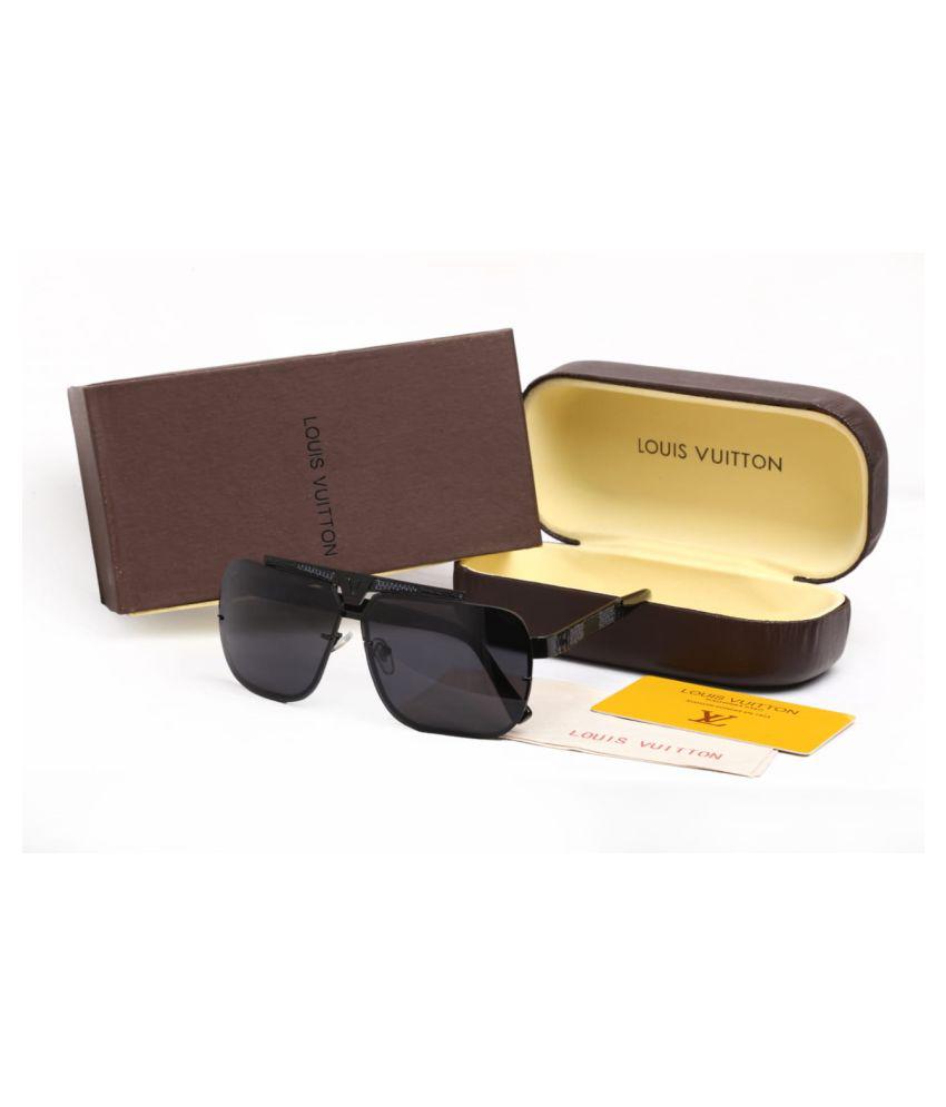 Louis Vuitton Black Square Sunglasses ( B546 )