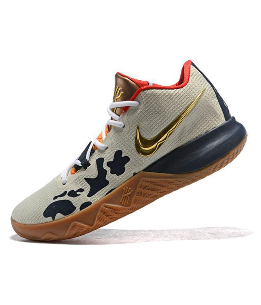 2417f1d2675b Nike Kyrie Flytrap Limited Edition White Basketball Shoes - Buy Nike ...