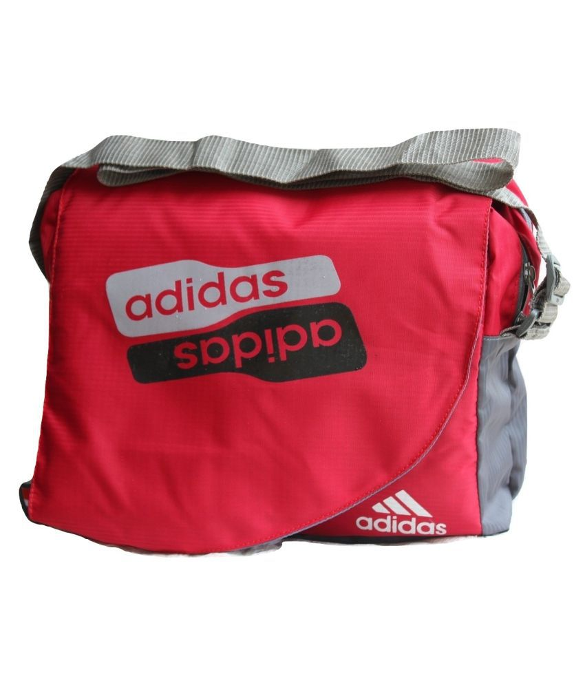 1e58dfaf5b8 Adidas Latest/Trendy/Stylish Bag for School/College/Other Red Nylon Casual  Messenger Bag - Buy Adidas Latest/Trendy/Stylish Bag for  School/College/Other Red ...