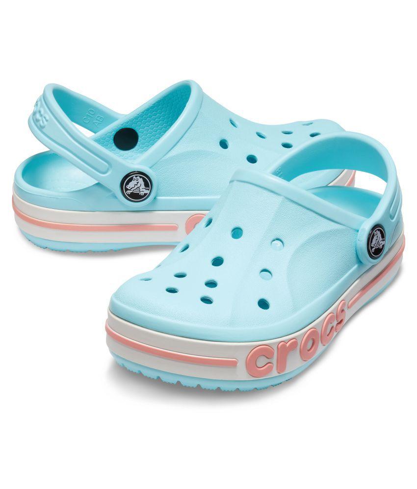 0c5ba1093 Crocs Kids Blue Bayaband Clogs 205100-4O9 Price in India- Buy Crocs ...