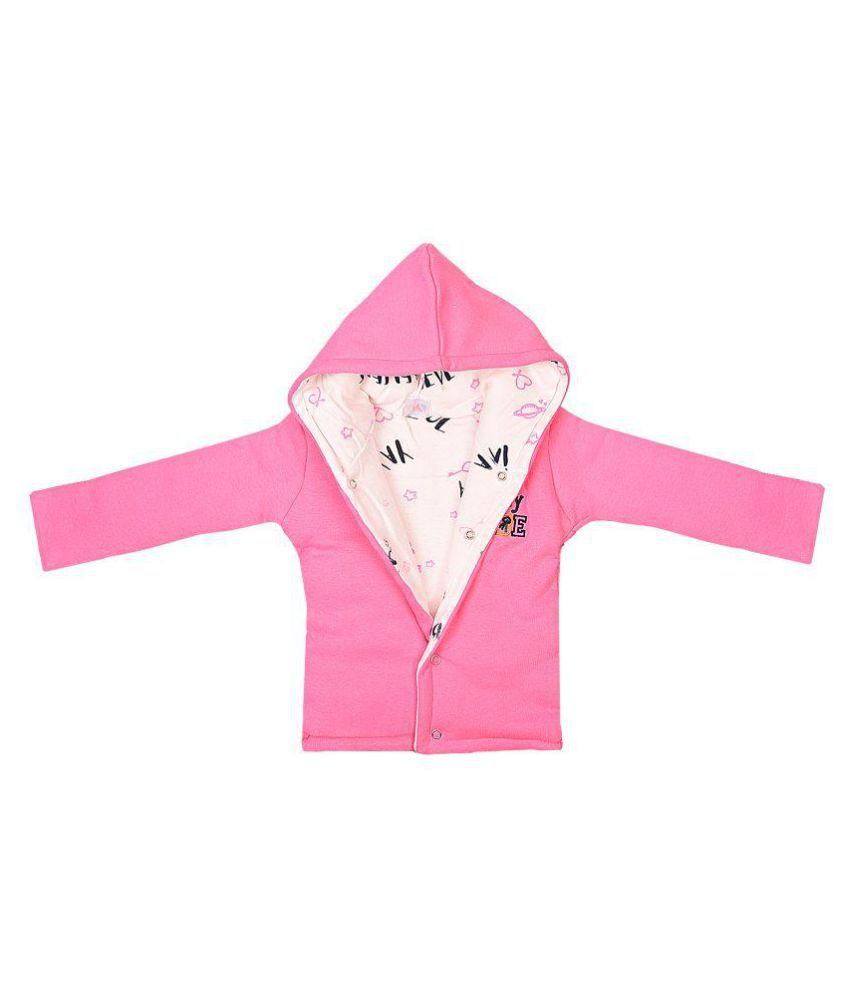 Reversible Polywadded Jacket - Pink