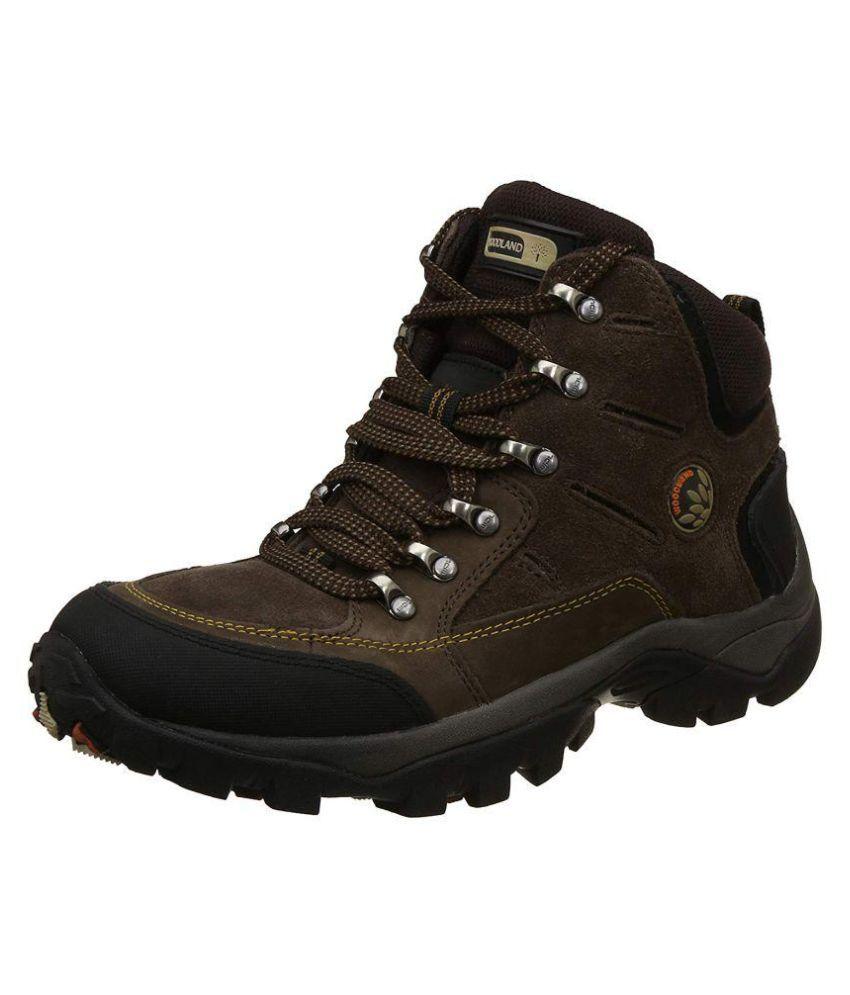 Woodland Brown Chukka boot