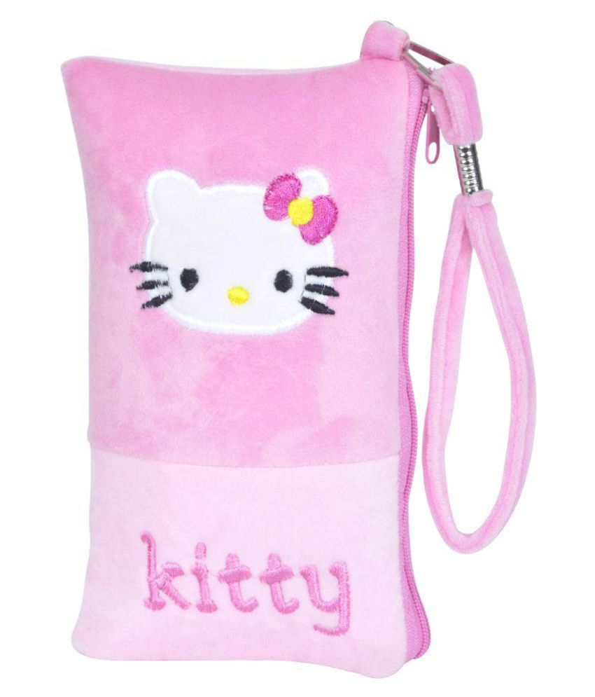 ecdff08d4 Chords Hello Kitty Mobile Pouch in Soft Toy Pencil Pouch for Girls: Buy  Online at Best Price in India - Snapdeal