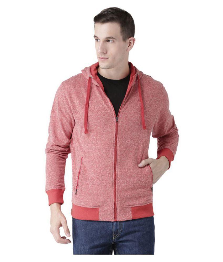 Club York Red Hooded Sweatshirt