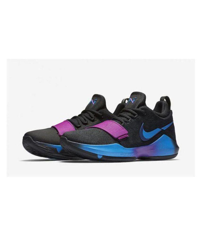official photos 9a443 29619 Nike PG1 Black Blue Purple Midankle Male Purple: Buy Online ...