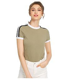 ef70b4329c Women s Tees   Polos  Buy T-shirts for Women Online at Best Prices ...