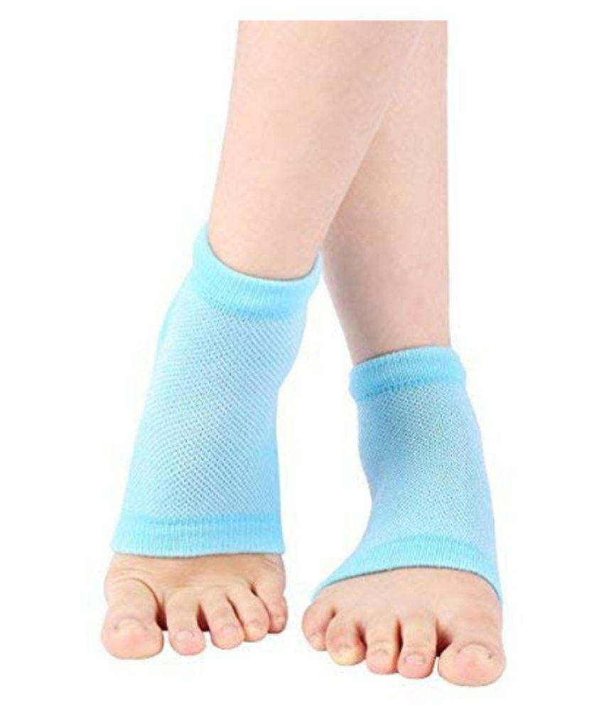 dd4a1b0bc6 BAWALY Silicone Gel Heel Socks With Gel Pad Foot Protector Free Size: Buy  Online at Low Price in India - Snapdeal