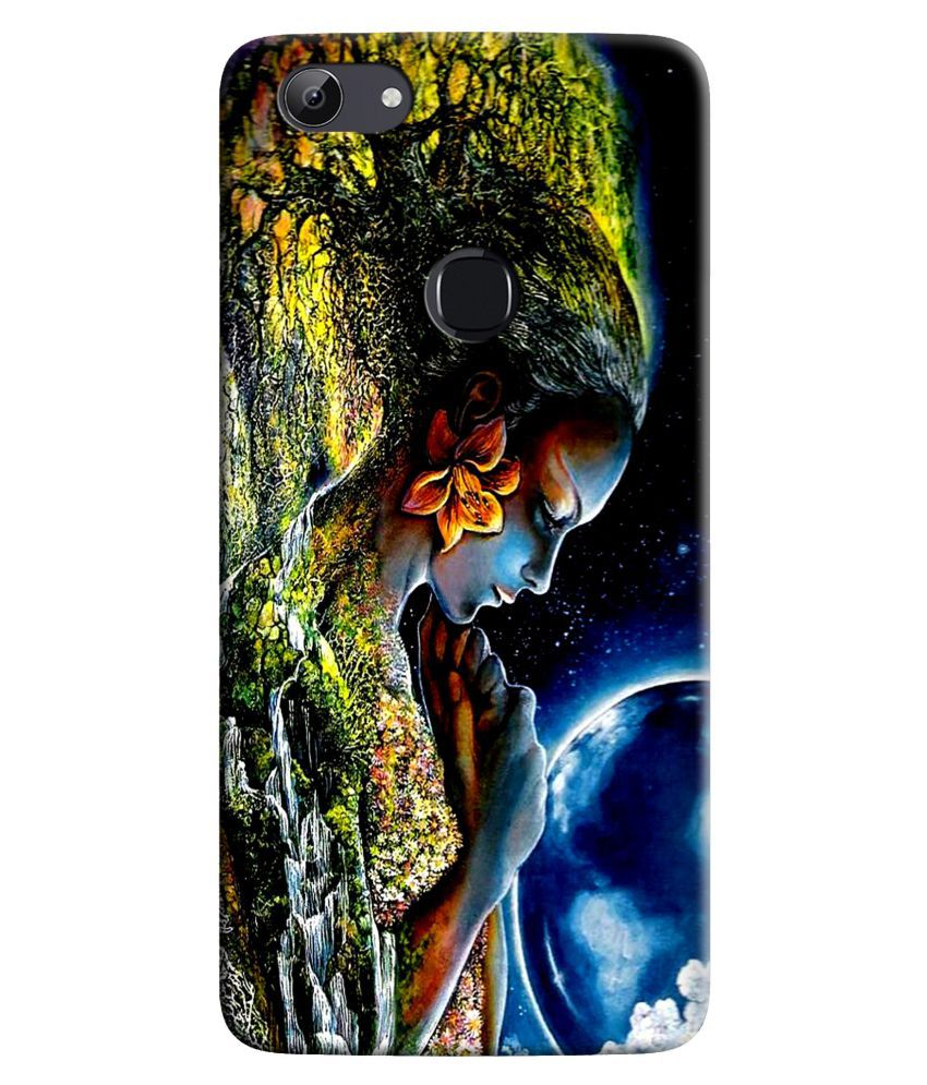 vivo V7 plus Printed Cover By HI5OUTLET