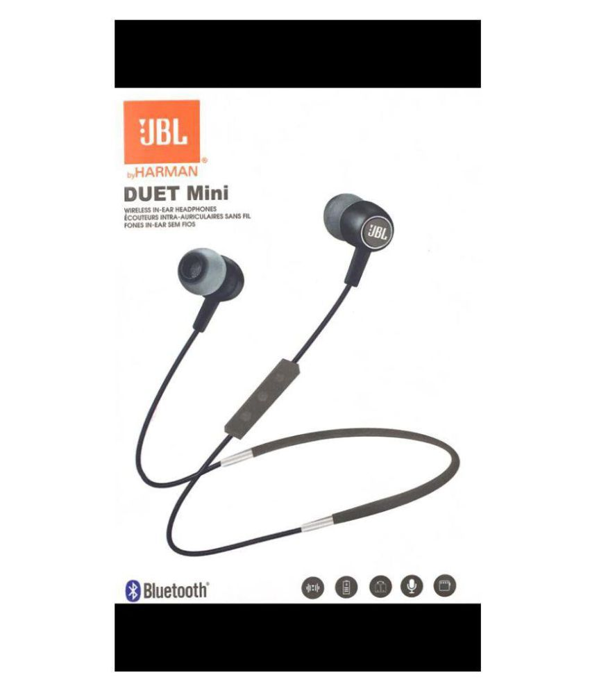 8279513bbf4 JBL duet mini Neckband Wireless Headphones With Mic - Buy JBL duet mini  Neckband Wireless Headphones With Mic Online at Best Prices in India on  Snapdeal