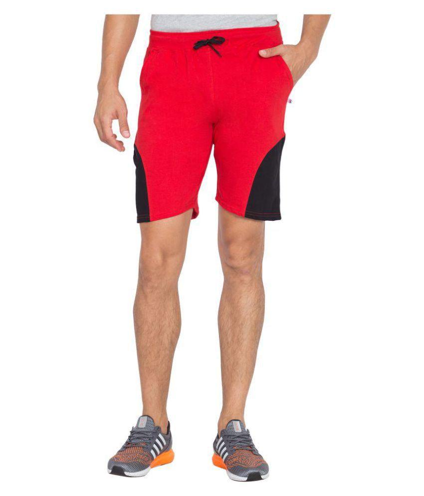 VESTILO Red Shorts 1