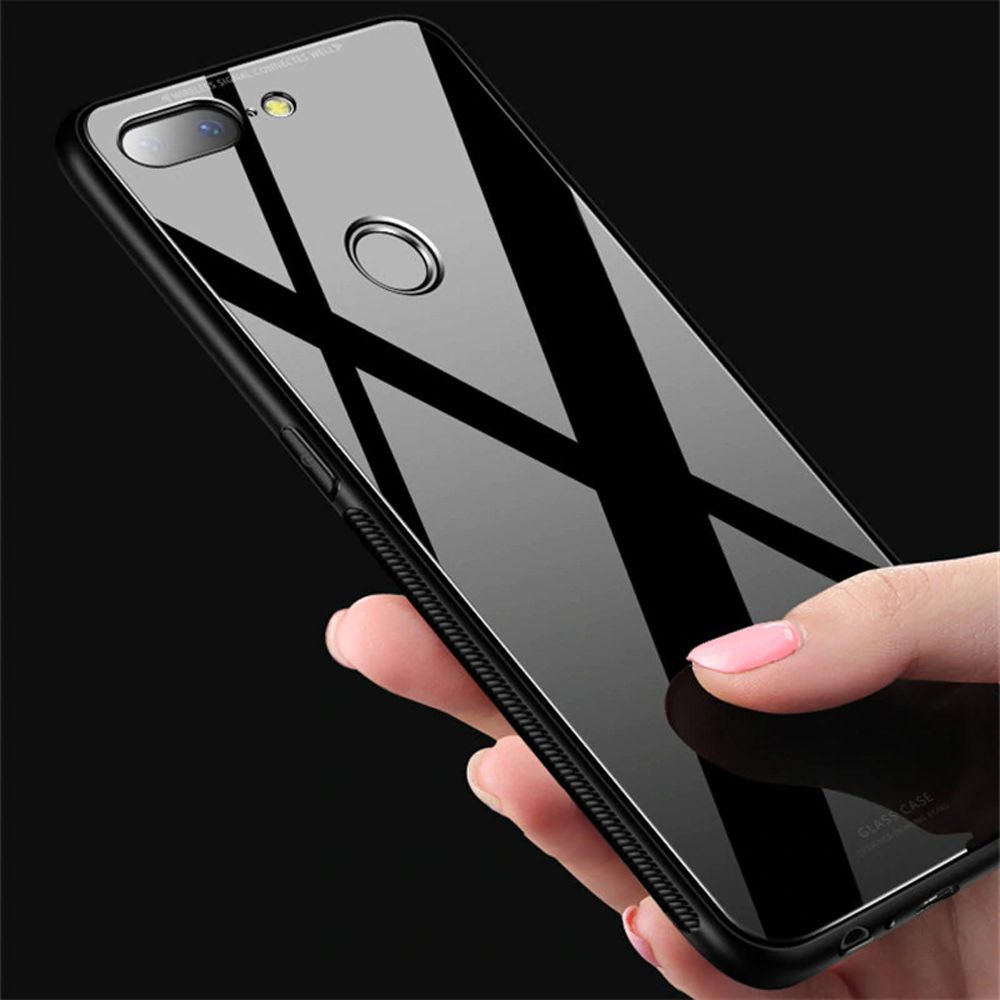 Xiaomi Redmi Note 6 Pro Mirror Back Covers NXG4U - Black