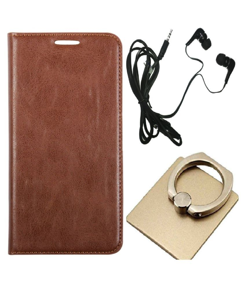 promo code 0131e 33a50 Nokia 6.1 Plus Cover Combo by VinyakMobile Leather Flip Cover Combo ...