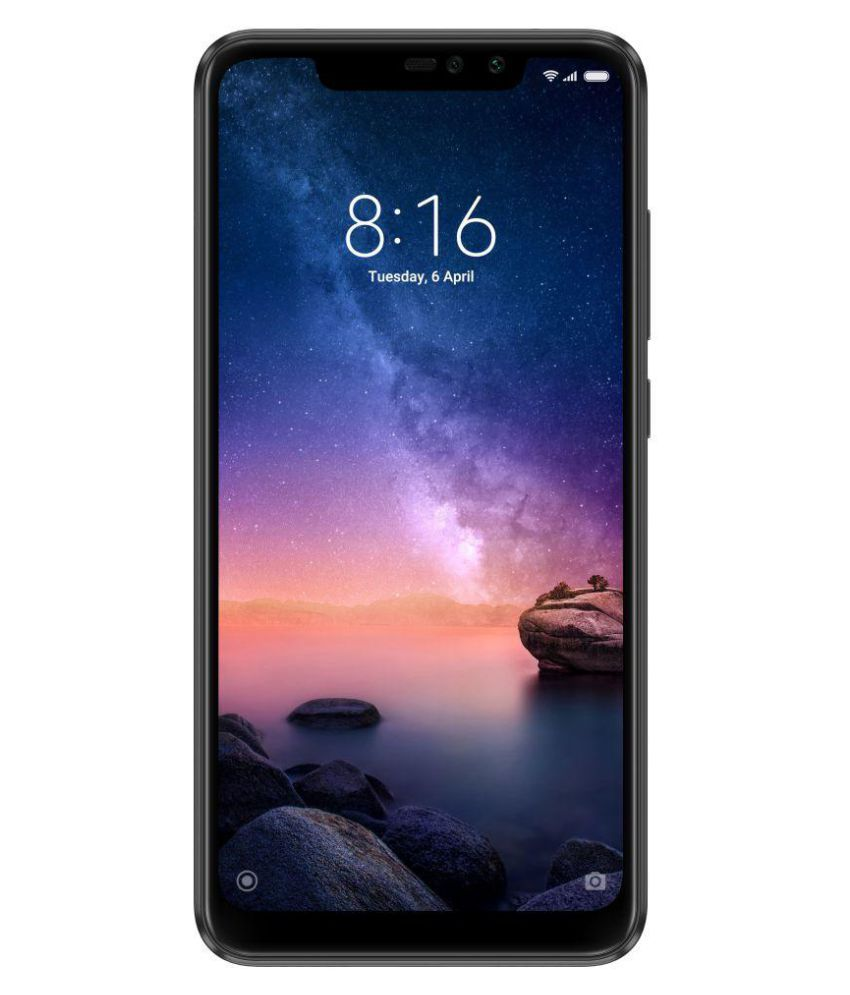 MI Note 6 Pro (4GB RAM) ( 64GB , 4 GB ) Black