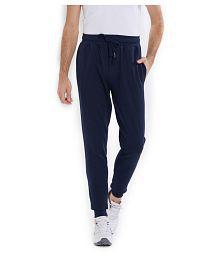 Lawman Blue Cotton Trackpants