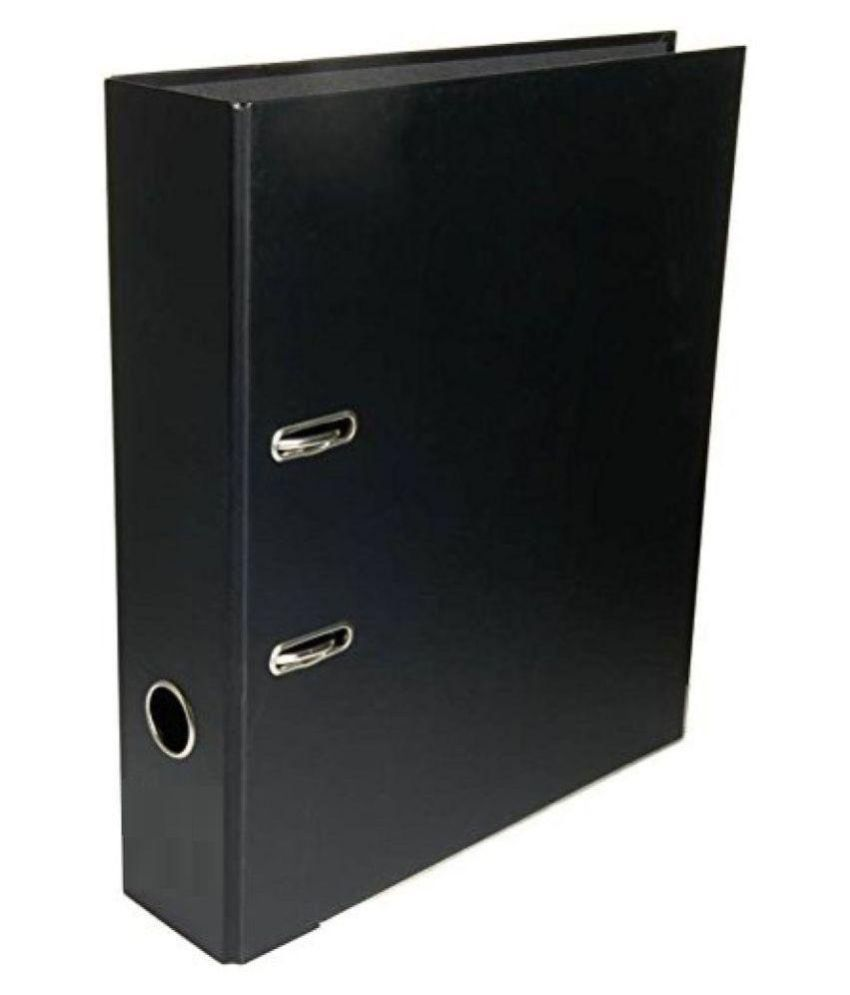 Lever Arch Box File 75mm Clip (Set Of 2 Blue Files)