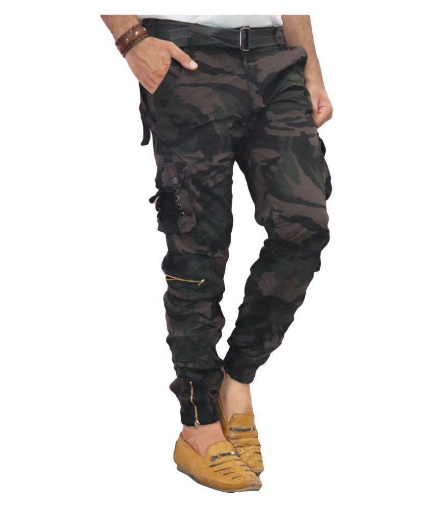POOL CLUB Purple Regular -Fit Flat Trousers