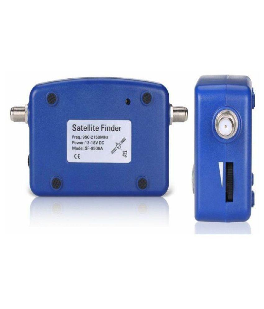 Satellite Signal Finder Meter Tester Pointer Inline IF Signal Strength  Meter Gain Measuring Tool for Dish Network, Direct TV, Satelite TV, Digital  TV,