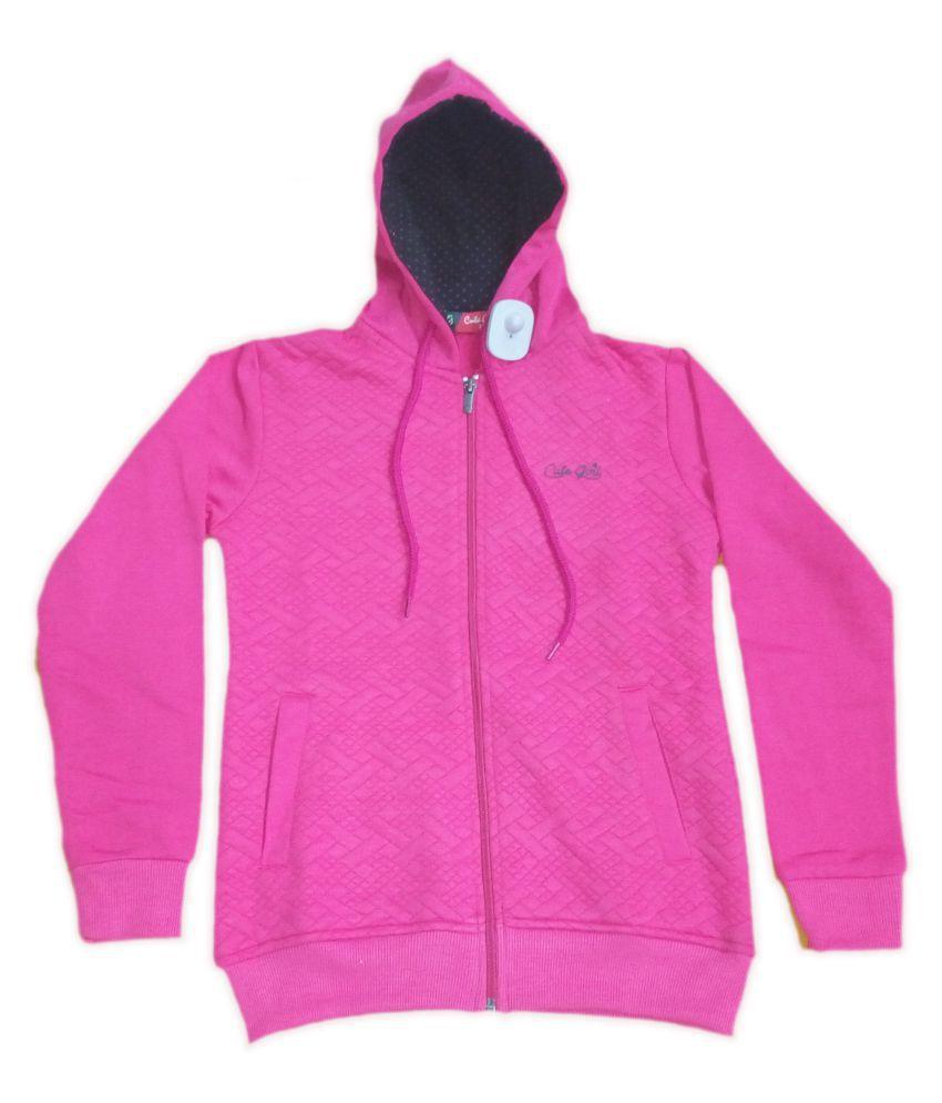 Vastra Vinod Kids Full Sleeve Sweatshirt For Girls