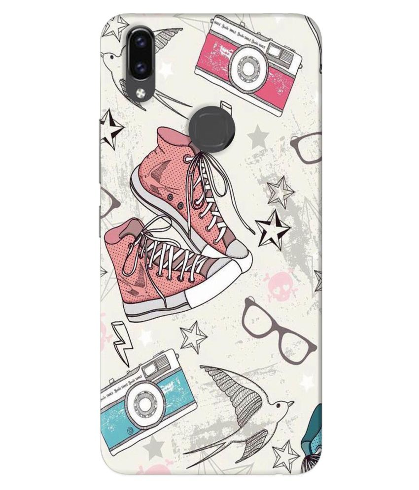 Vivo V9 Printed Cover By HI5OUTLET