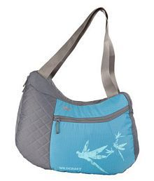 Wildcraft Turquoise Polyster Sling Bag