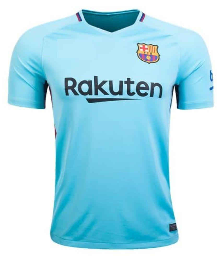 newest 7f936 0600e Barcelona Away Soccer Jersey 2017-2018