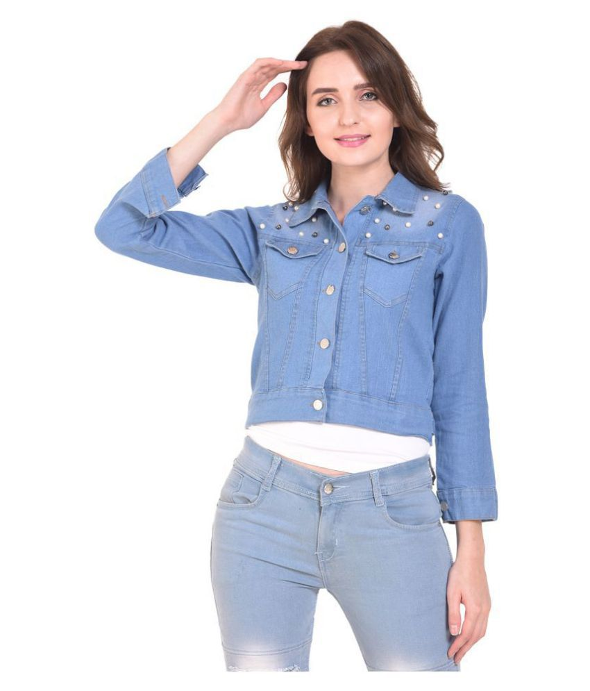MDS Jeans Denim Blue Jackets