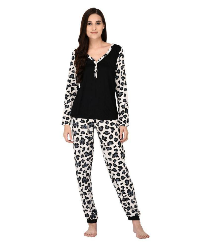 792125f522b Buy YAYA Hosiery Nightsuit Sets - Multi Color Online at Best Prices in India  - Snapdeal