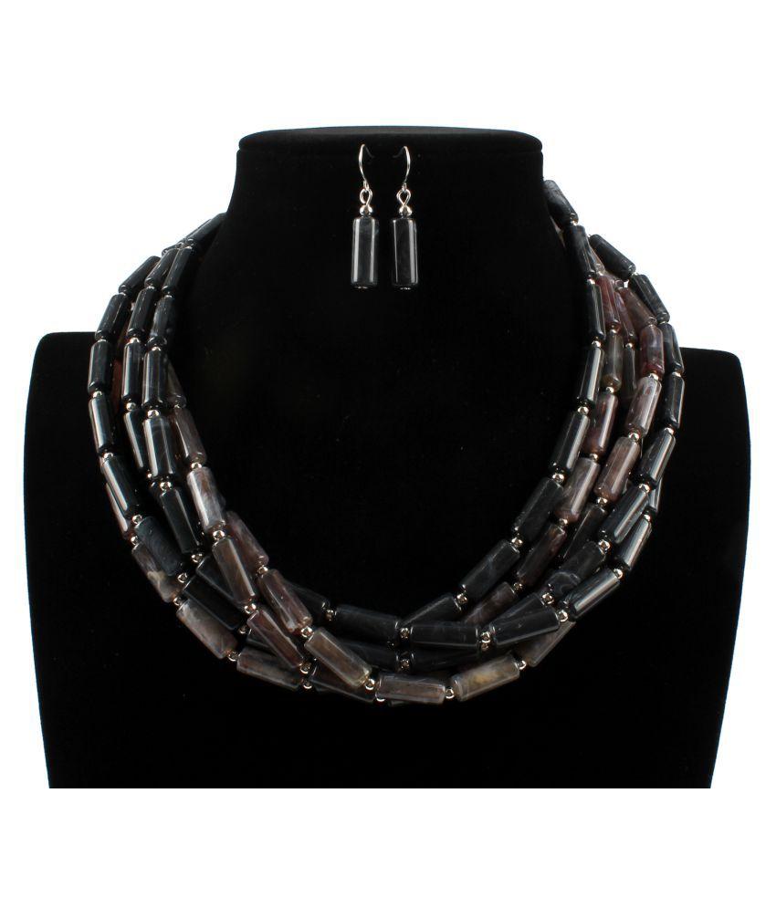 YOLO None Orange Other Contemporary/Fashion Necklaces Set