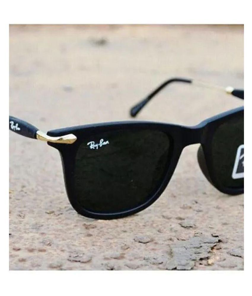 TRENDY CLASSIC Black Square Sunglasses ( 055 )