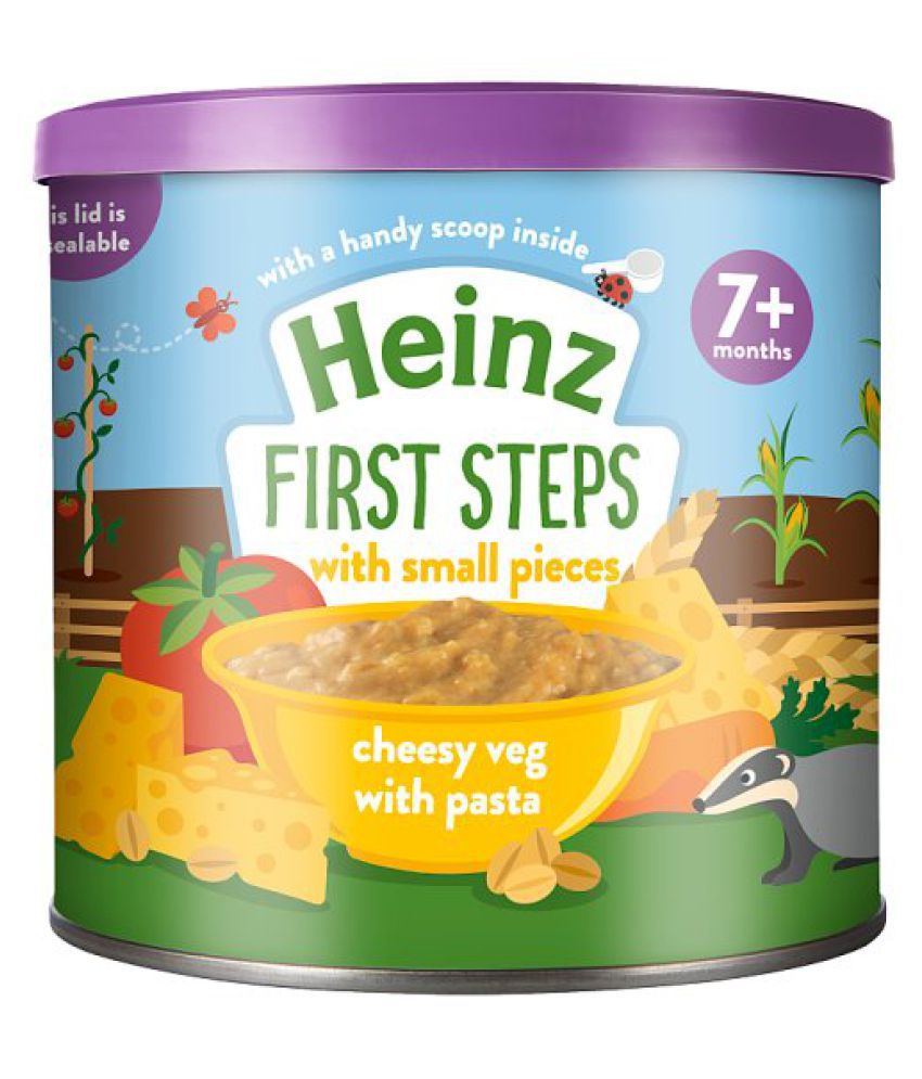 Heinz Baby Food First Steps Cheesy Vegetable With Pasta