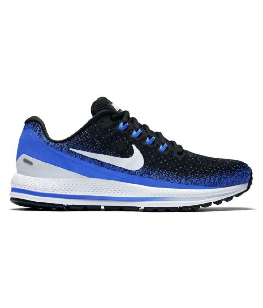 Nike Vomero 13 Running Shoes Blue For Gym Wear