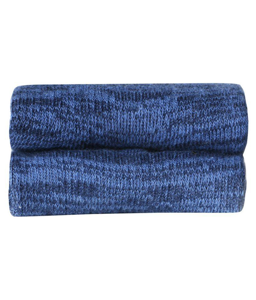 Valenino Blue Sports Low Cut Socks