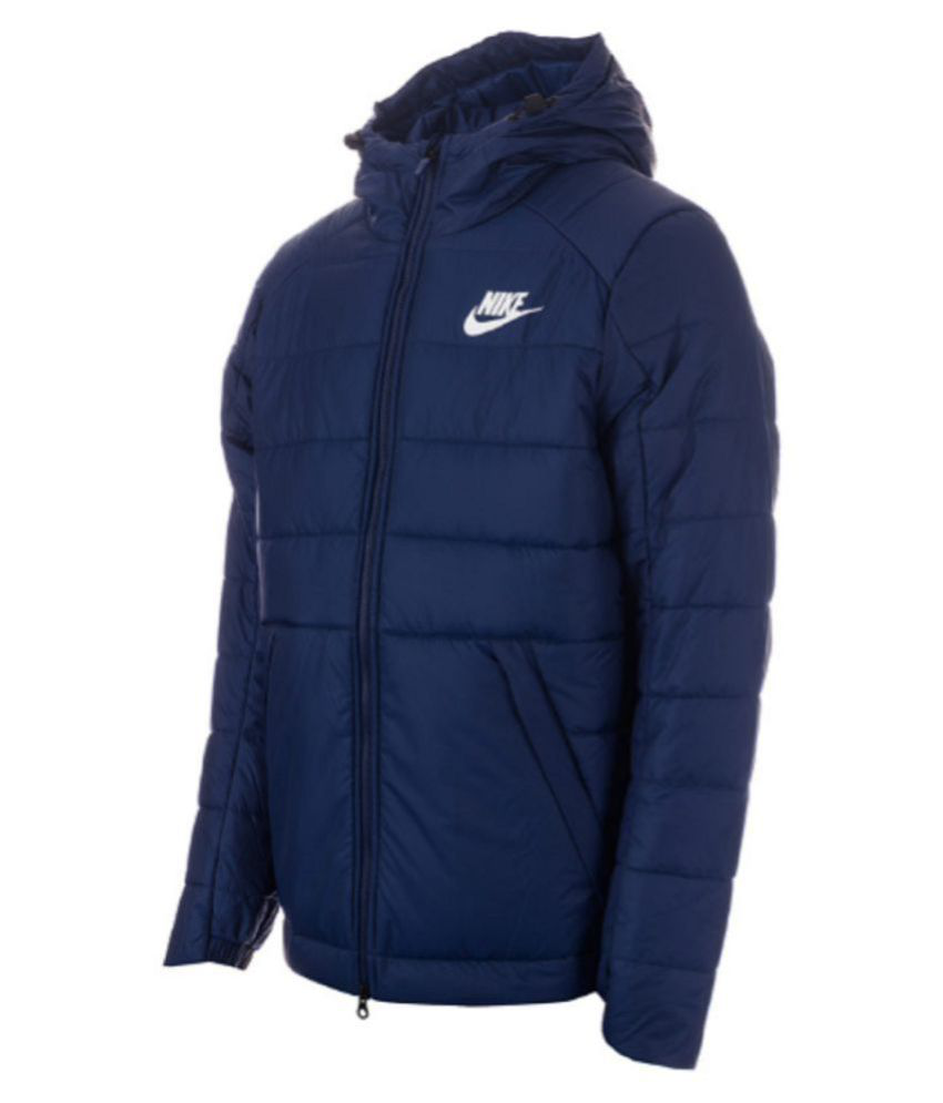 57e407fae1 Nike Navy Down Jacket - Buy Nike Navy Down Jacket Online at Best Prices in  India on Snapdeal